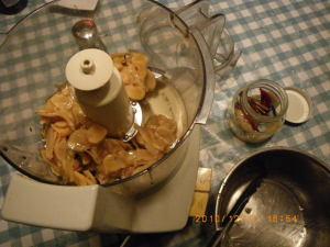 生姜のジャム作り1