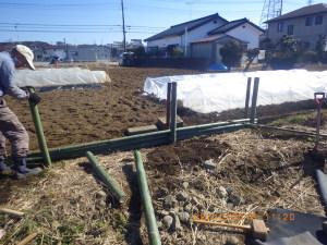 堆肥置き場作り